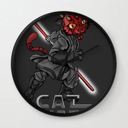 Cat Maul Wall Clock