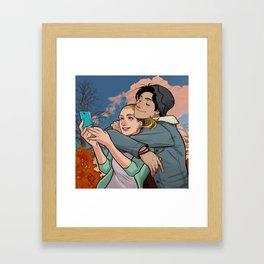 Bughead 3 Framed Art Print