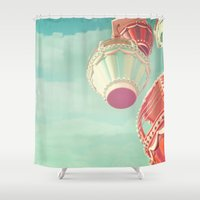 carnival Shower Curtains featuring Carnival  by Scarlett Ella