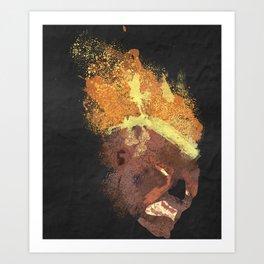 League of legends: Brand + background Art Print