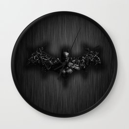 bat Wall Clock
