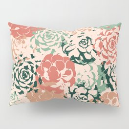 Stamped Succulents Pillow Sham