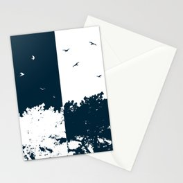 BIRDS AND THE TREES Stationery Cards