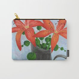 Orange Lilies Still Life Carry-All Pouch