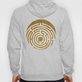 Solving Mazes Gold Hoody