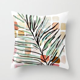 Darling, Through This Way: Under The Leaves Throw Pillow