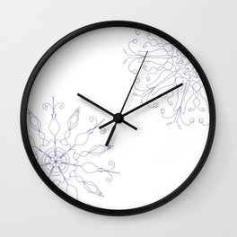 Cobalt Blue color scheme Wall Clock