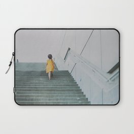 A girl in a yellow dress Laptop Sleeve