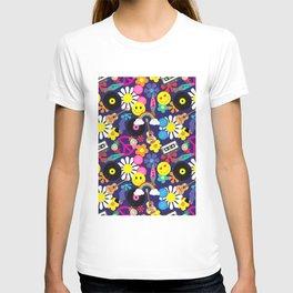 Groovy Retro Hippie Pattern T-shirt