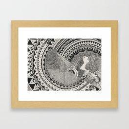 Aztech Patterns Framed Art Print