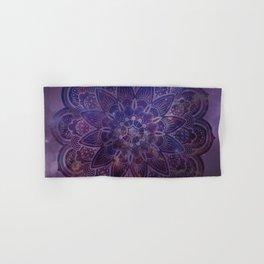 Ultraviolet Mandala Hand & Bath Towel