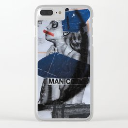 manicomio uovo Clear iPhone Case