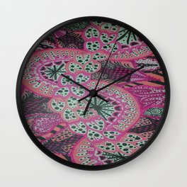 DRAGON FRUIT POLLINATION Wall Clock