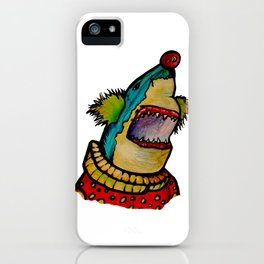 Clown Shark iPhone Case