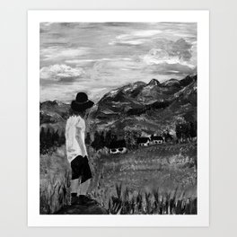 Gazing Over the Tatras - Acrylic Art Print