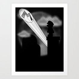 The Plumber Signal Art Print