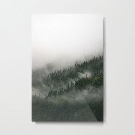 Foggy Prince William Sound Metal Print