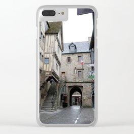 Le Mont Saint Michel 3 Clear iPhone Case