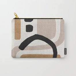 Abstract shapes art, Mid century modern art Carry-All Pouch