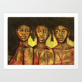 2020 Learning Seeing Knowing Being by Marcellous Lovelace Art Print