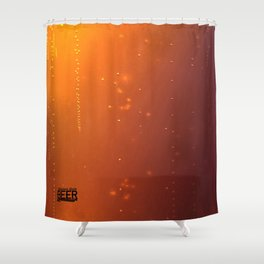 Beer Texture Shower Curtain