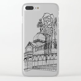 Conservatory of succulent - Black Clear iPhone Case