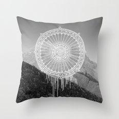 Montain Mark Throw Pillow