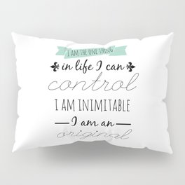INIMITABLE - HAMILTON Pillow Sham