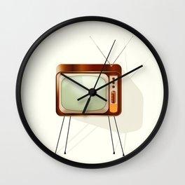 Vintage Television Wall Clock
