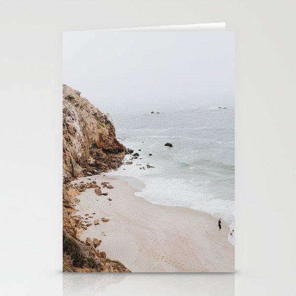 malibu coast / california Stationery Cards