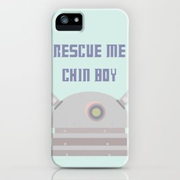 Rescue Me Chin Boy iPhone Case