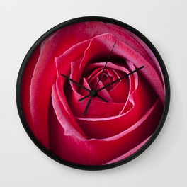 Red Red Rose Wall Clock