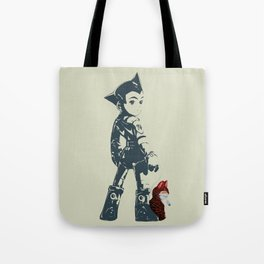 Astroboy Unplugged Tote Bag