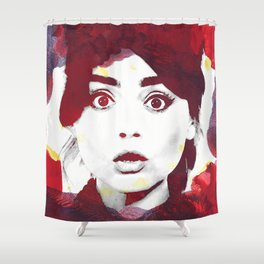 The Impossible Clara Shower Curtain