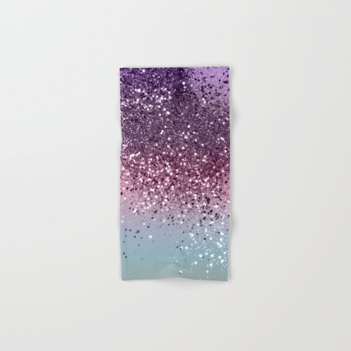 Unicorn Girls Glitter #6 #shiny #pastel #decor #art #society6 Hand & Bath Towel