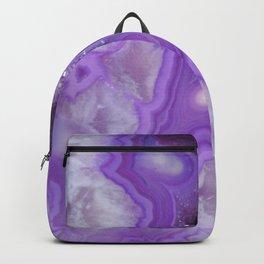 Wild Amethyst Stone Backpack