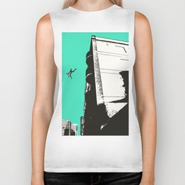 Dream Sequence Turquoise Biker Tank