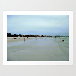Find Me At The Beach! Art Print