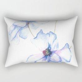 Modern Florets Rectangular Pillow