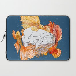 Cat dreams Laptop Sleeve