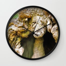 Lady Oak Wall Clock
