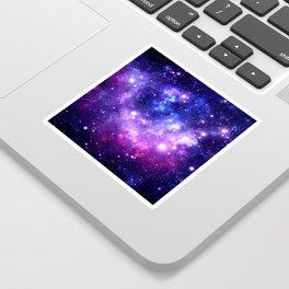 Purple Blue Galaxy Nebula Sticker