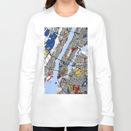 New York Mondrian Long Sleeve T-shirt