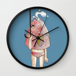 I am a Fish Wall Clock
