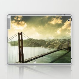golden gate bridge in san francisco Laptop & iPad Skin