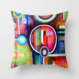 Focus série 'TDAH' Throw Pillow