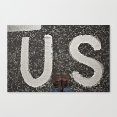 B-US-ES Canvas Print