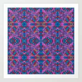 A Night To Remember Kaleidoscope Art Print