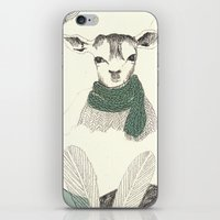 into the wild iPhone & iPod Skins featuring wild by maria elina