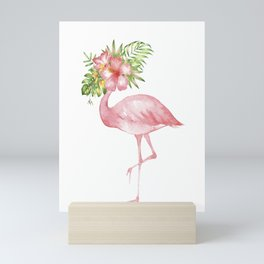 Flamingo Dreams Mini Art Print